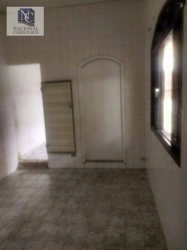 casa comercial para locação, centro, santo andré - ca2048. - ca2048
