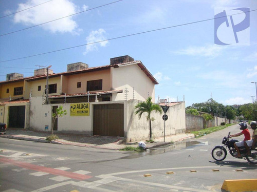 casa comercial para locação, cidade dos funcionários, fortaleza. - ca2479