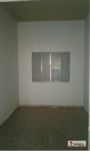 casa comercial para locação, palmital, marília. - ca0326