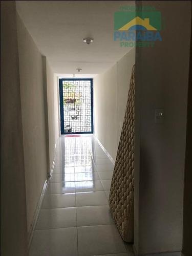 casa comercial para locação - praia do cabo branco - joão pessoa - pb - ca0235