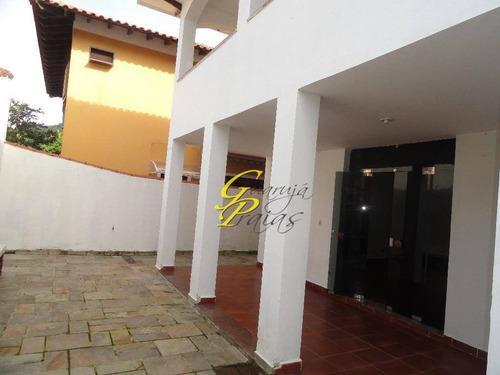 casa comercial para locação, vila maia, guarujá. - codigo: ca0073 - ca0073