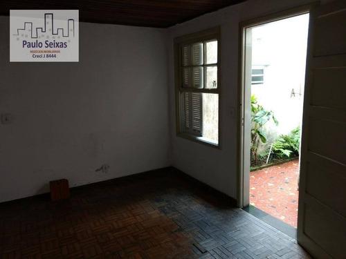 casa comercial para locação, vila romana, são paulo. - ca0097