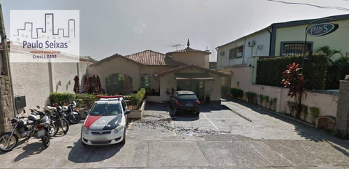 casa comercial para venda e locação, alto da lapa, são paulo. - ca0093