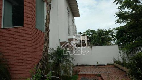 casa comercial para venda e locação, são francisco, niterói - ca0480. - ca0480
