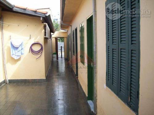 casa comercial à venda, centro, são josé dos campos - ca2285. - ca2285