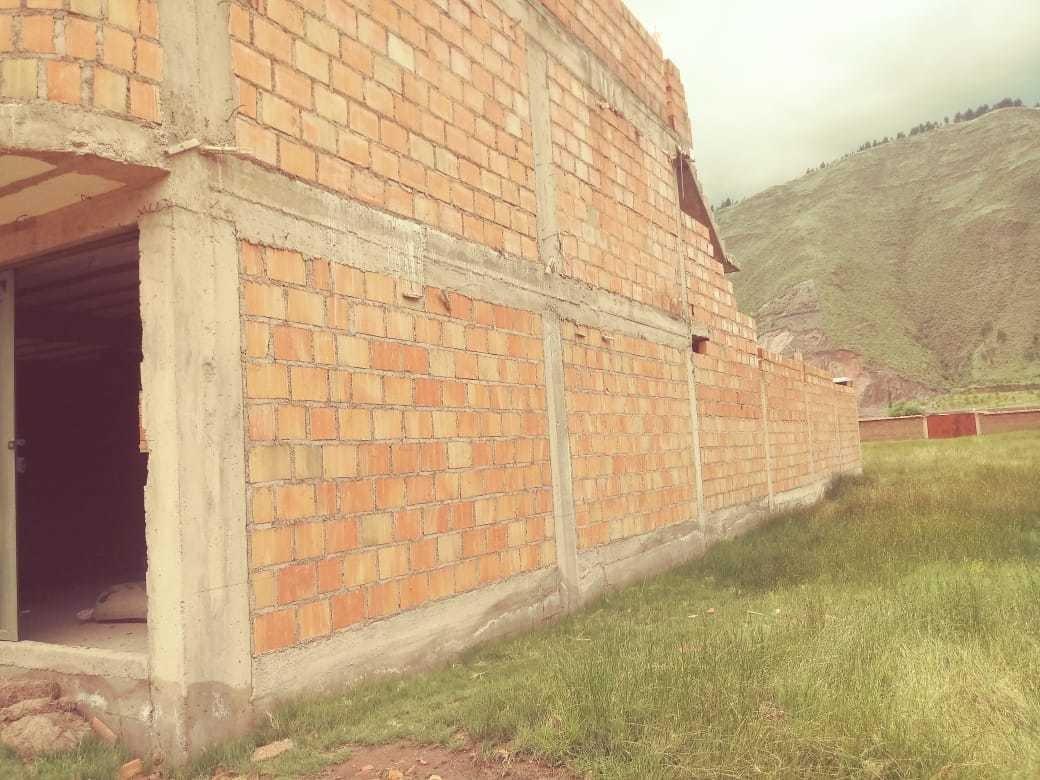 casa como terreno - carretera huasao-oropesa
