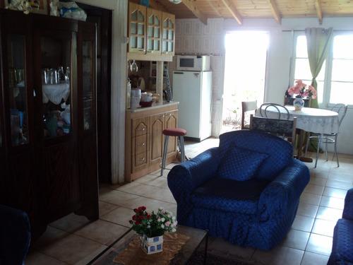casa comoda ideal para descanso, en punta de tralca