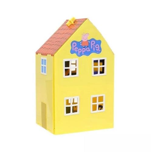 casa completa deluxe house con peppa y george pig original