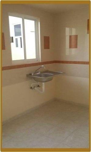 casa con 3 recamaras y un baño completo