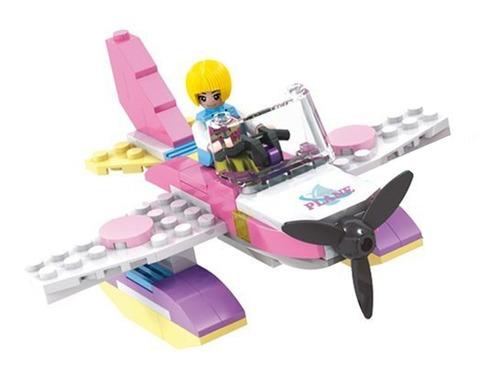 casa con aeroplano y jet ski cogo dream girls bloques