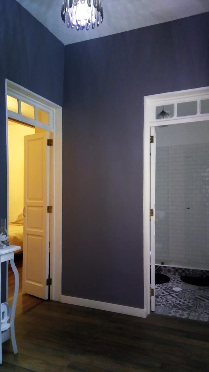 casa con  cuartos  amueblados retro-vintage en renta