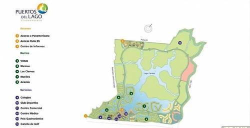 casa con financiación al agua en  muelles  puertos /lago escobar/costantini