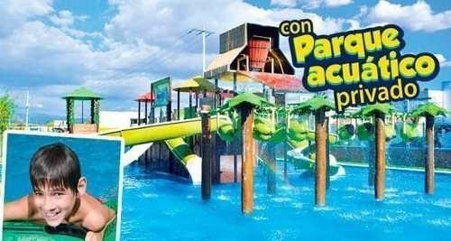casa con parque acuático privado modelo esmeralda