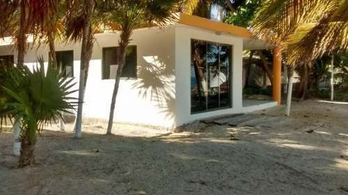 casa con pie de playa en el poblado de puntallen