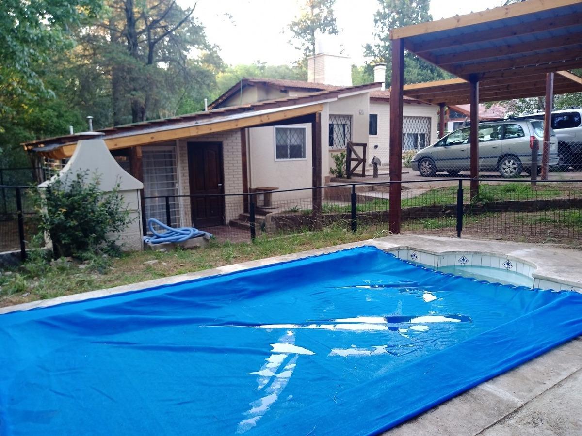 casa con pileta bosque arroyo a 500mt del centro hasta 6 pax