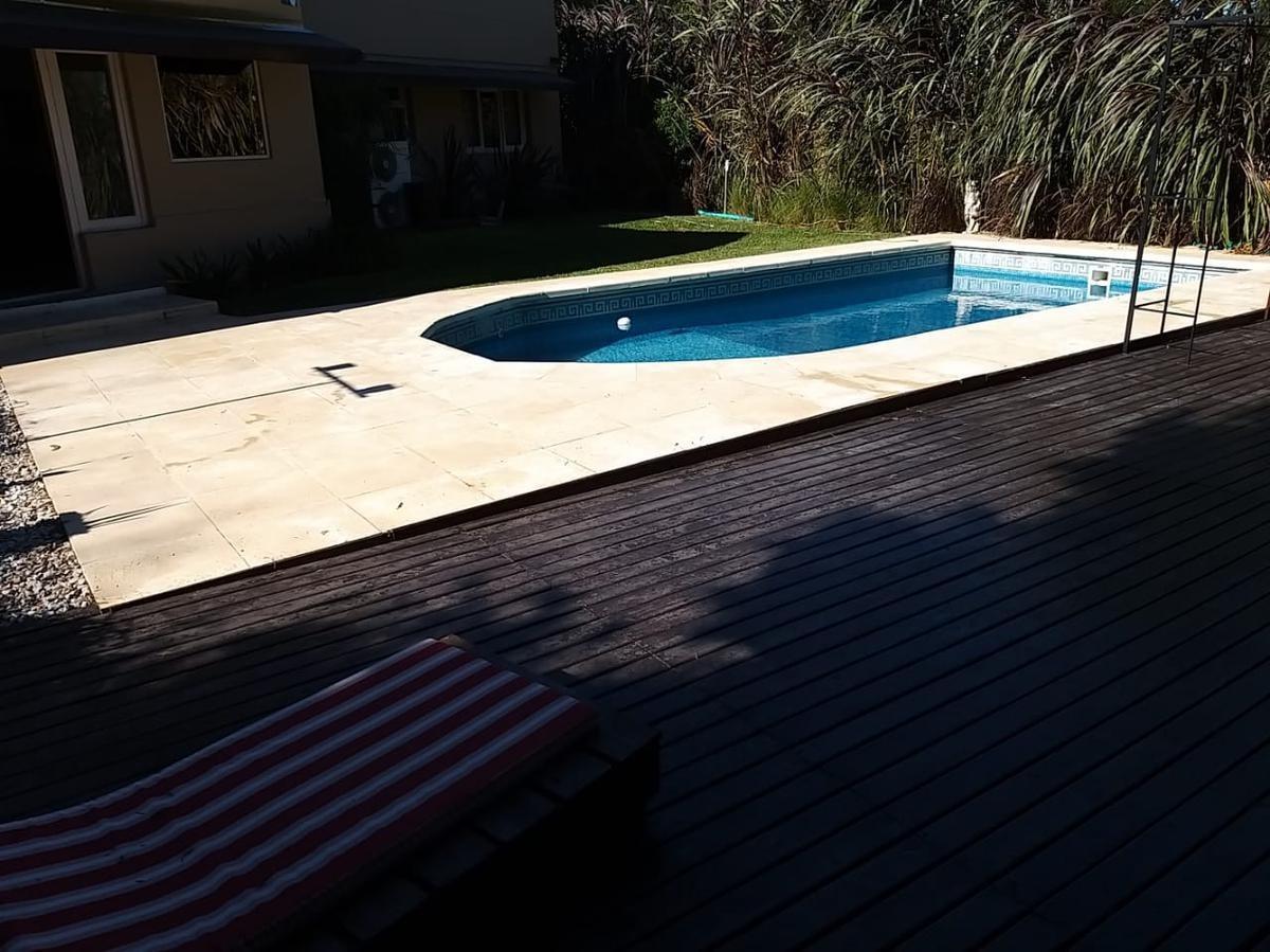 casa con piscina - buenos aires golf