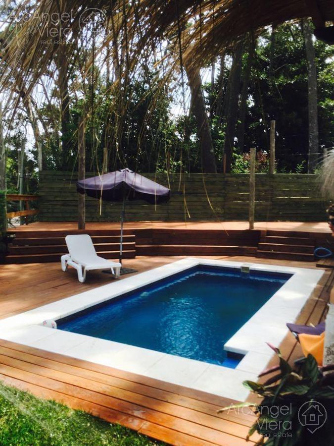 casa con piscina en alquiler - san rafael, punta del este
