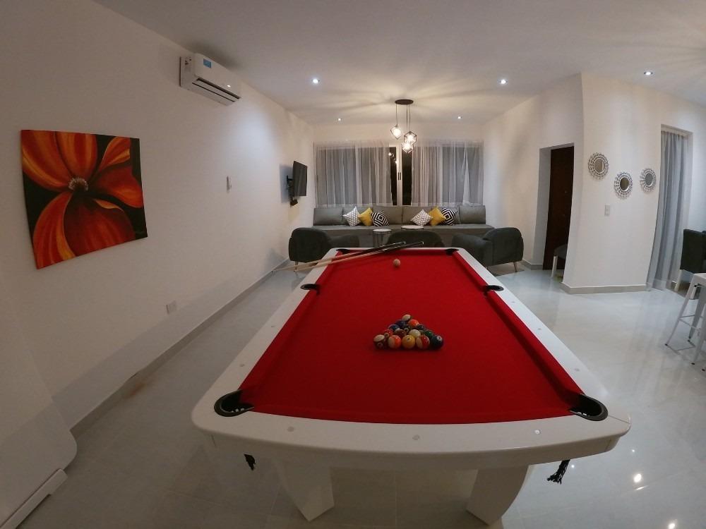 casa con piscina para 10 personas barrio costa esmeralda