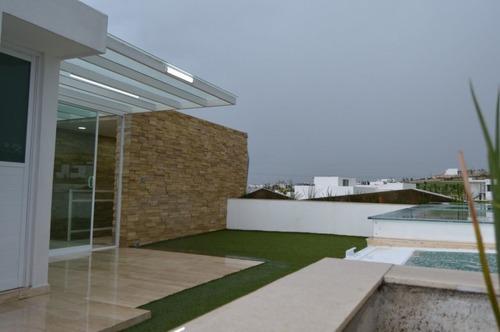 casa con roof-garden en venta en parque veracruz