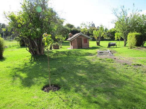 casa con terreno para construir en chía