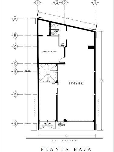 casa con uso de suelo para restaurant