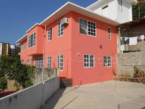 casa con vista al mar en fracc. mozimba, acapulco