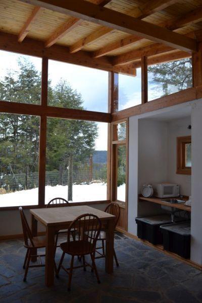 casa con vista parcial al lago de 250m2