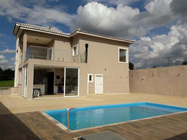 casa condomínio 3 suítes piscina x auto / terreno condomínio
