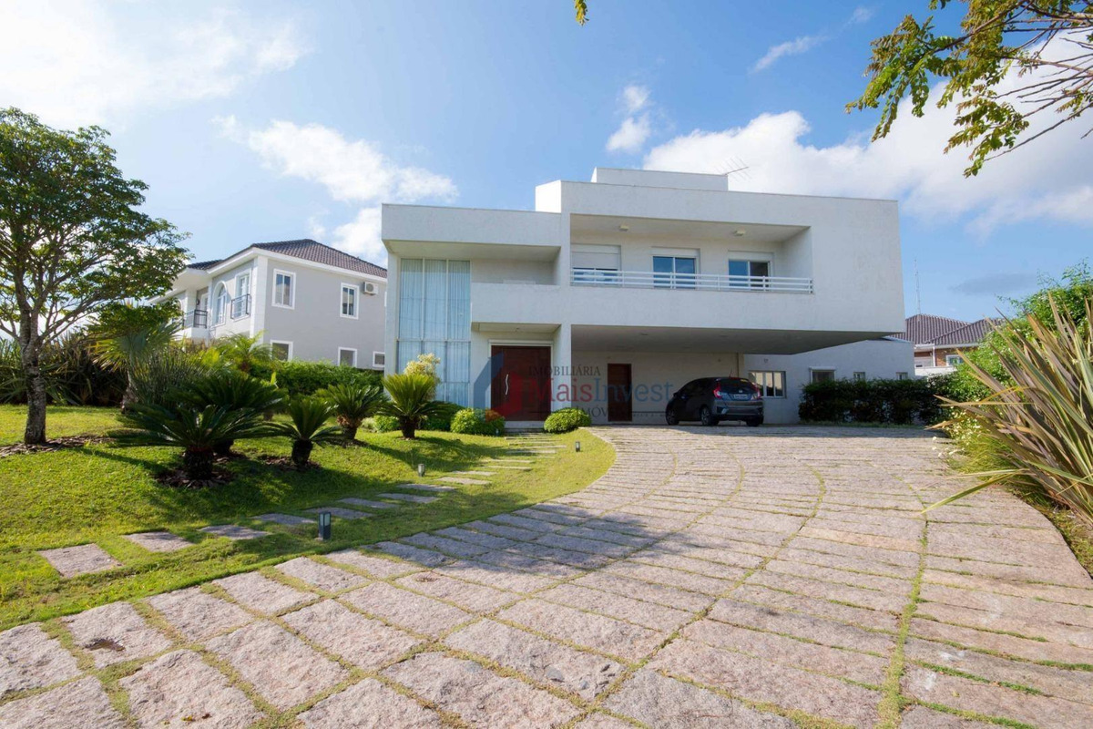 casa condomínio com 4 dormitórios à venda, 467 m² - alphaville graciosa - pinhais/pr - ca0056