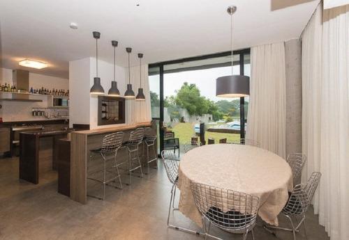 casa condomínio em belém novo com 3 dormitórios - lu265373