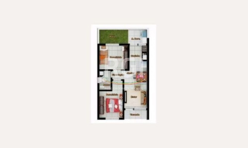 casa condomínio em parque itacolomi com 2 dormitórios - vi3286