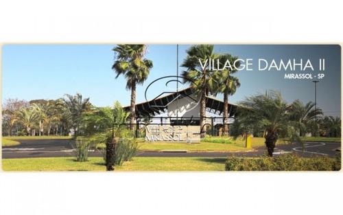 casa condominio, mirassol - sp, bairro: cond. village damha mirassol ii