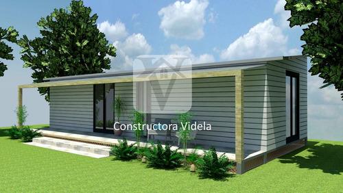 casa construcción prefabricada