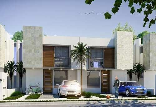 casa construida en ladrillo con aplanados en muro con yeso,