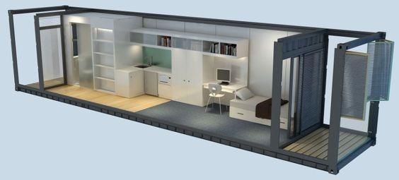 Casa container 17 modelos 1de40 12 x 2 4m r 20 00 em mercado livre - Casa container prezzo ...