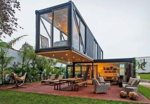 casa container, casa modular pré fabricada 18m2 r$ 24.000,00