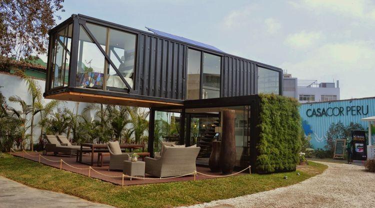 casa container ecologicas - 4 ambientes (60m2)