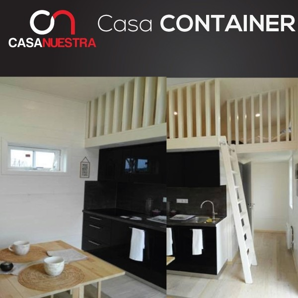 Casa container prefabricada rentera departamento negocio - Casas container precio ...