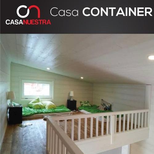 casa container prefabricada vivienda social contenedores