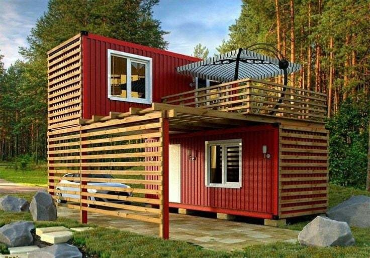 casa conteiner 30m2 2 ambientes (at)