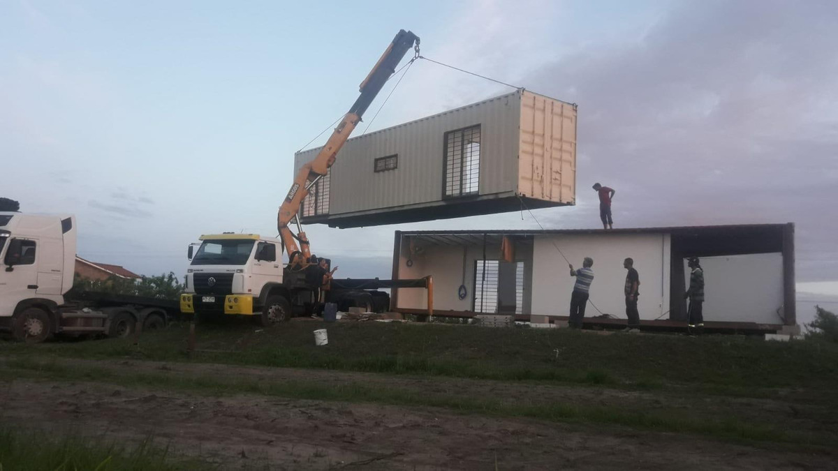 casa contenedor 40+20 pies!!  tenés un terreno? tenes casa!
