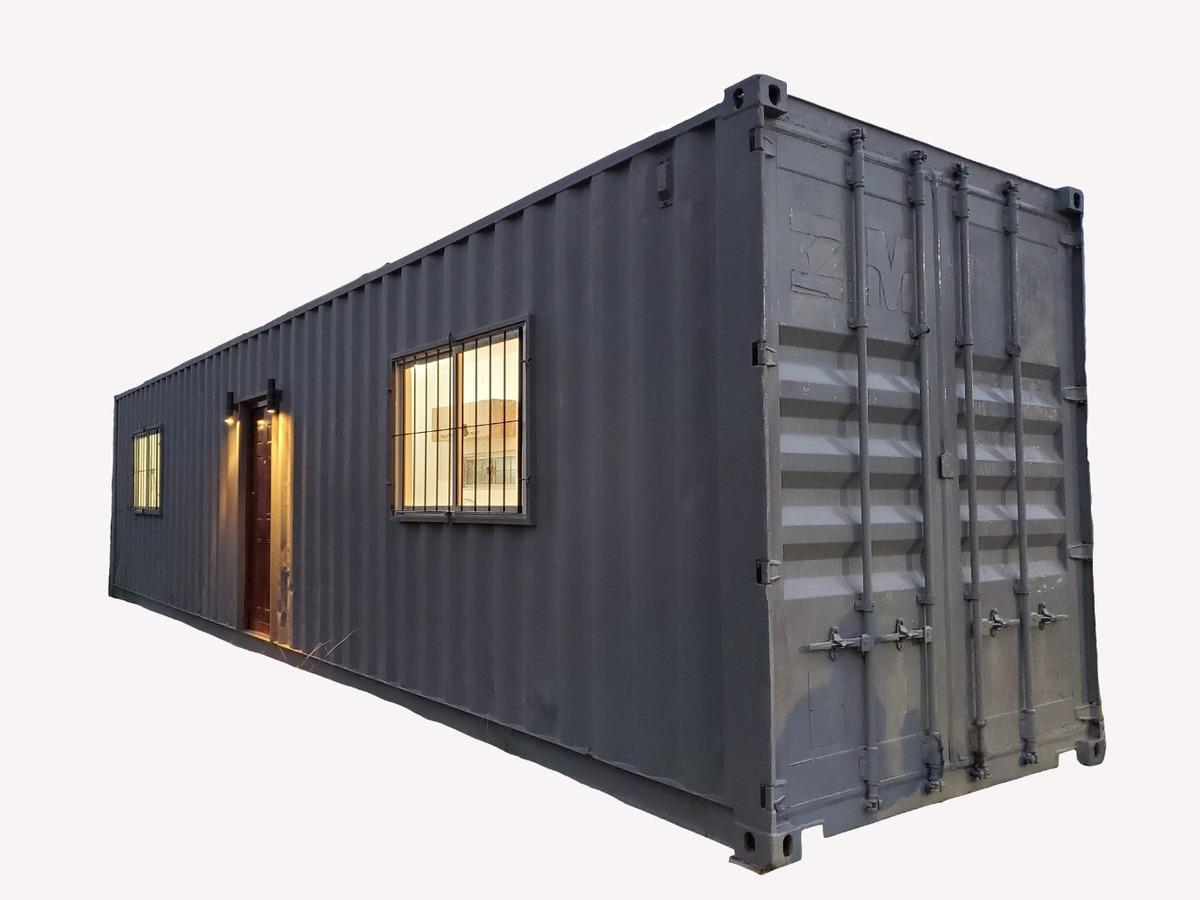 casa contenedor - entrega inemdiata - contenedor - rejas