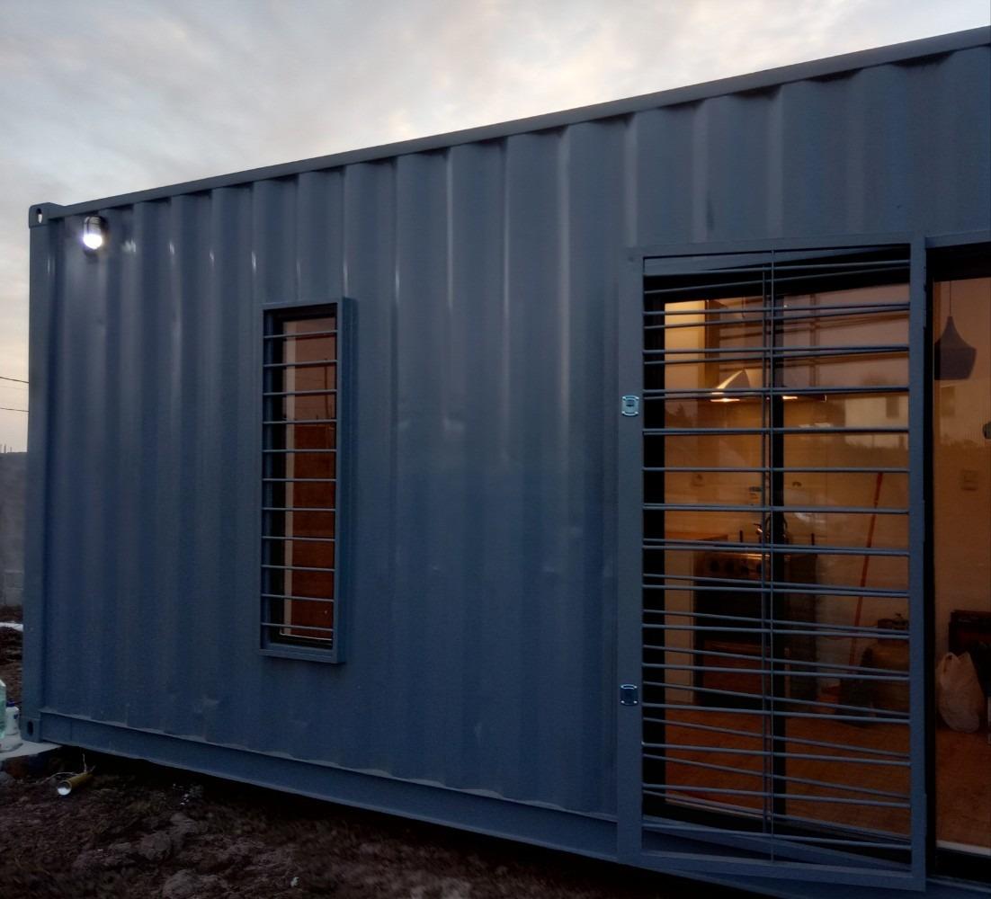 casa contenedor, viviendas container 40 pies hc