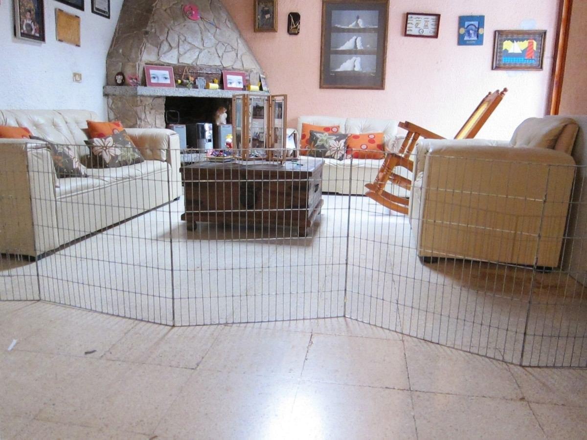 Casa corral reja para perro 7 paneles 60x80cm altura - Mascotas en casa ...