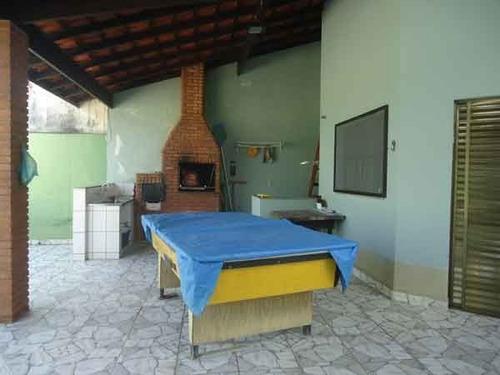 casa c/piscina 500 metros praia - jamaica ref.: 858