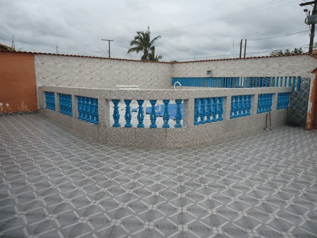 casa c/piscina a 700 metros da praia - jd regina - ref: 553