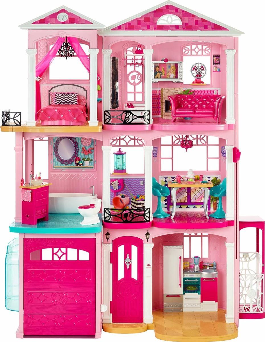 Casa Da Barbie 3 Andares House Dreamhouse Frete Gratis R