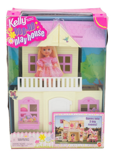 casa da kelly pop up play house - mattel