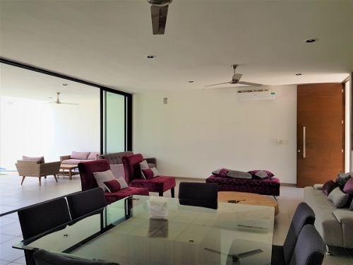 casa de 1 piso amueblada y equipada dentro de la privada san