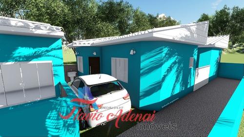 casa de 1 quarto em unamar, cabo frio, com financiamento próprio. - fac 220 - 34135514